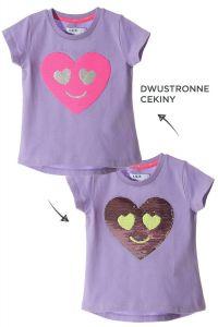 Трикотажна футболка для дівчинки, 3I3401