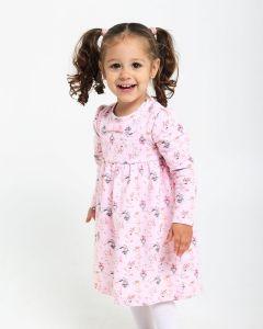Трикотажне плаття  для дівчинки 7814