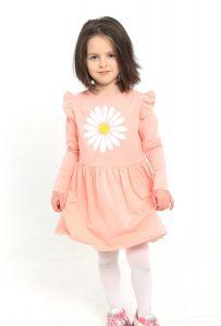 Трикотажне плаття  для дівчинки, 8510
