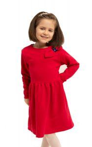 Плаття з махровою ниткою всередині  для дівчинки, 8607