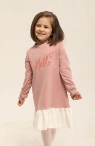 Плаття з махровою ниткою всередині  для дівчинки, 8608
