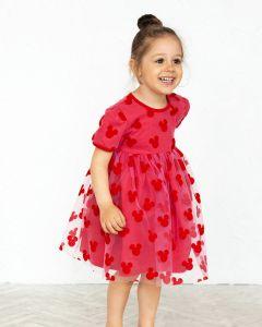 "Котонове плаття з фатином ""Minnie Mouse"", 8646/8670"