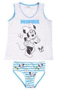 Набір білизни (майка + труси) ''Minnie Mouse'' для дівчинки, DIS MF 52 32 5791 (бірюзові))