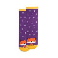 Шкарпетки з махровою ниткою (фіолетові), Duna, 4039