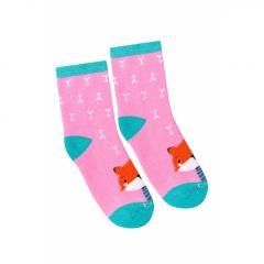 Шкарпетки з махровою ниткою (рожеві), Duna, 4039