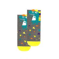 Шкарпетки з махровою ниткою (сірі), Duna, 4046