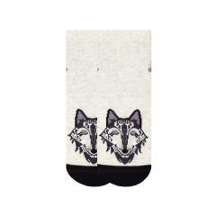 Трикотажні шкарпетки для дитини (сірі), Duna, 4053