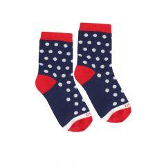Трикотажні шкарпетки для дитини (з червоним), Duna, 4103