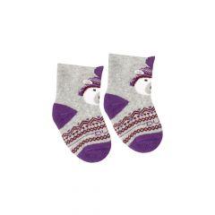 Шкарпетки з махровою ниткою (сірі), Duna, 4113