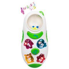 Музичний телефон зі світлом, BeBeLino 58031