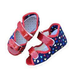 Ортопедичне профілактичне взуття, синє 0123 Берегиня