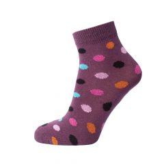 Трикотажні шкарпетки для дитини (темно-бузкові), Duna, 474