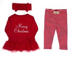 Різдвяний комплект для дівчинки, К-60-2