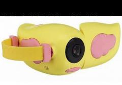 Дитяча цифрова фотоапарат - камера KIDS CAMERA, жовта