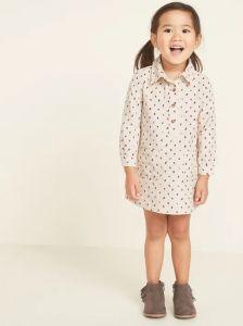 Вельветовое платье для девочки от OldNavy