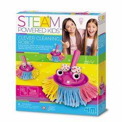STEAM-набір Розумний робот-прибиральник, 4M 00-04908