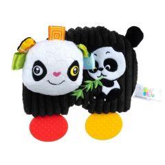 "Плюшева іграшка-прорізувач ""Панда"", Balibazoo 80483"