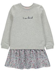 Комбіноване плаття для дівчинки