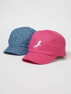 Стильна кепка для дитини 1 шт.(блакитна з принтом)