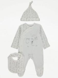 Практичний комплект для малюка (3 позиції) від George