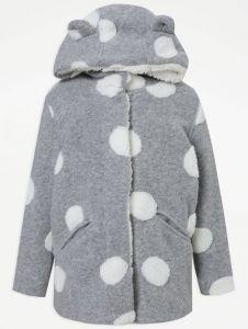 Пальто з плюшевою підкладкою