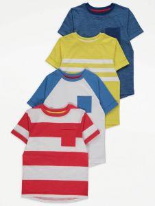 Набір футболок для хлопчика (4 шт.)