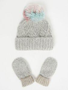 Комплект (шапка+рукавиці) для дитини