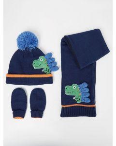 Комплект (шапка+шарф+перчатки) для ребенка