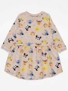 Платье с легкой флисовой байкой внутри от George