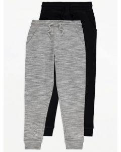 Спортивні штани з флісовою байкою всередині 1 шт. (сірі)