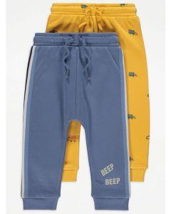 Спортивні штани для дитини 1 шт. (жовті)