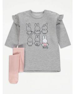 """Плаття з колготками для дівчинки """"Miffy"""""""