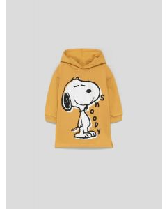 """Трикотажне плаття з начосом всередині """"Snoopy"""""""