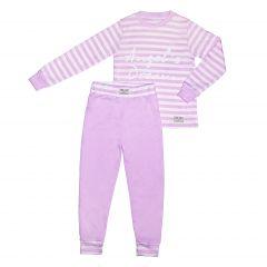 Трикотажна піжама для дівчинки, П-003