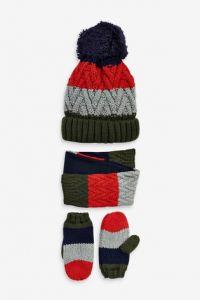 Комплект (шапка+шарф+рукавиці) для дитини