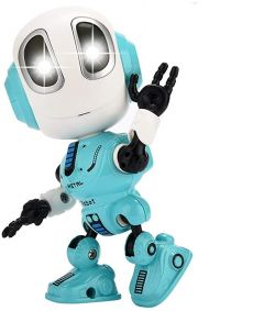Металевий індуктивний робот, світло, звук, запис,( ментоловий) MING YUAN MY66-Q1202