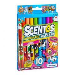Набір маркерів Scentos Для тонких ліній 10 кольорів (40720)