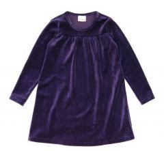 Велюрова сукня для дівчинки, 52751-2
