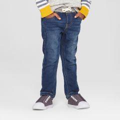 Супер м'які джинси з трикотажним поясом для хлопчика