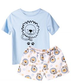 Трикотажна піжама для дівчинки, 8636