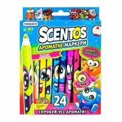 Набір ароматних маркерів для малювання Scentos Тонка лінія (40722)