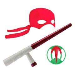 Іграшкова зброя TMNT Еволюція Черепашок-ніндзя Спорядження Рафаеля (82054)(Ninja Turtles)