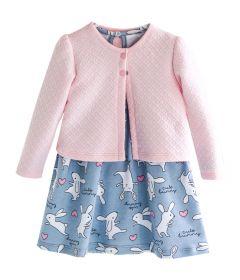 Комплект плаття-боді та болеро для дівчинки, 8632