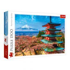 """Пазли """"Вид на гору Фудзіяма, Японія """", Trefl 26132"""