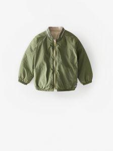 Двостороння курточка-бомбер для хлопчика
