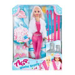 """Лялька Ася """"Зимова красуня, 35129"""