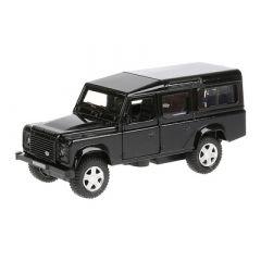 Автомобіль  Технопарк Land rover Defender 1:32 чорна інерційна (DEFENDER-BK)