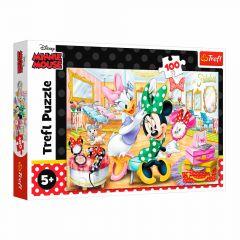 "Пазли ""Minnie Mouse у салоні краси"" Trefl 16387"