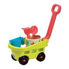 """Візок з набором для піску """"Гарден"""", 6 ел., Ecoiffier 004344"""