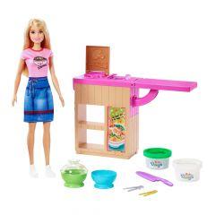 """Ігровий набір Барбі """"Приготування локшини"""" із серії You can be, Barbie GKH43"""